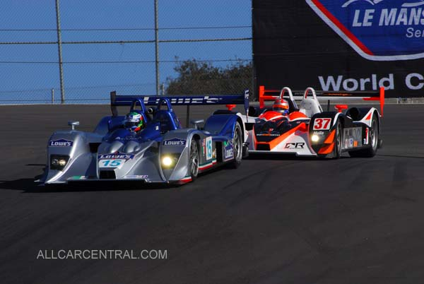LMP2, 3rd and 5th Overall Lola B06-43-Acura  Season Finale, American Le Mans Series 2007