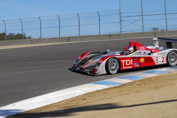 LMP1 2nd and 3rd Overall Audi AG/R 10/TDI  Season Finale, American Le Mans Series 2007