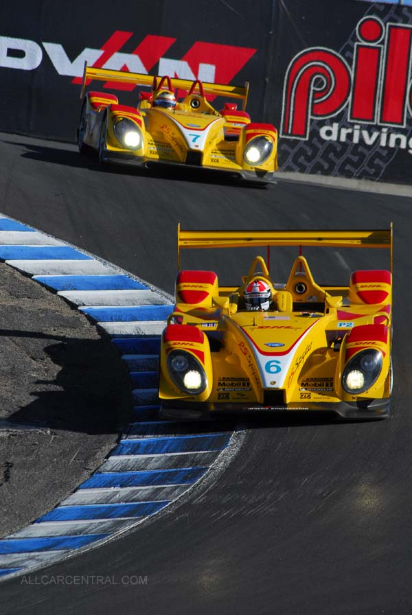 LMP2, 2nd and 4th Overall Porsche RS Spyder  Season Finale, American Le Mans Series 2007