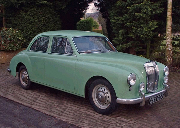 MG Magnette Saloon 1954