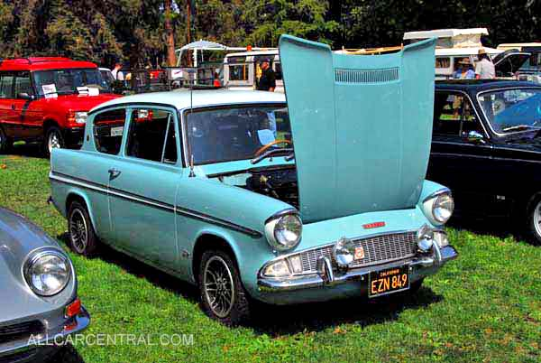 English Ford Anglia 1961