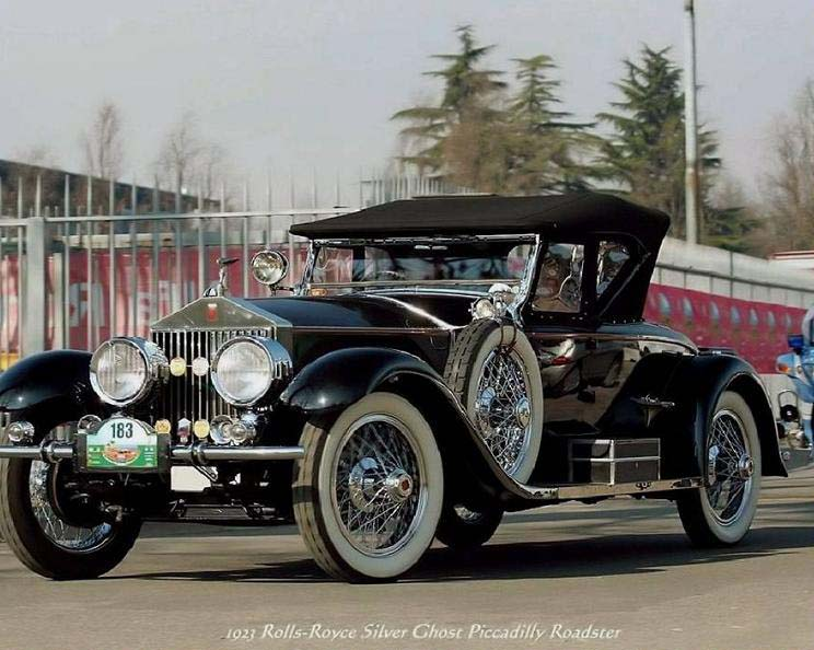 Rolls-Royce Silver Gost Piccadilly Roadster 1923