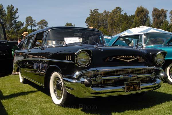 Chevrolet Nomad 1957. Hillsborough Concours d'Elegance, CA, 2007