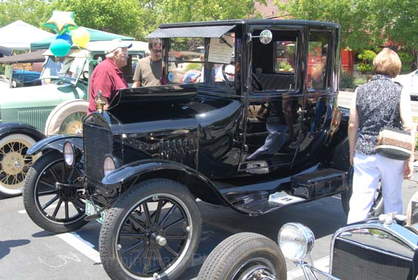 Ford Model T Coupe 1924