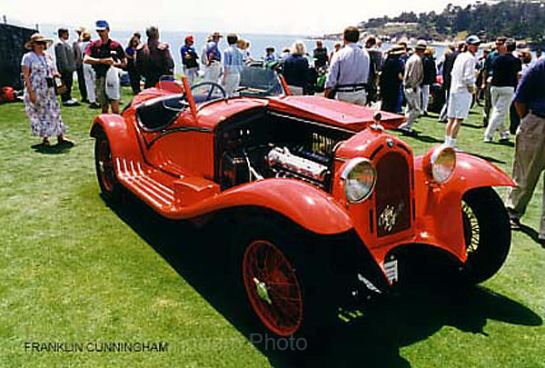 Alfa Romeo 1933, 1350 Grand Sport Spyder by Touring