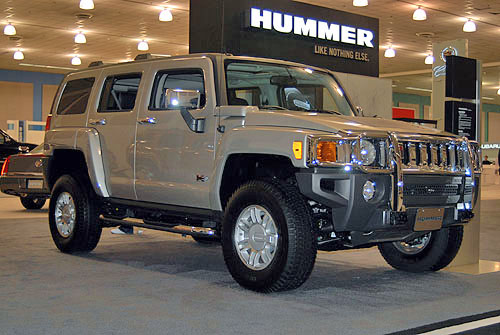hummer design, hummer car, extreme hummer