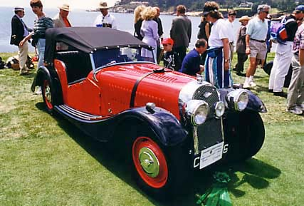 Morgan 1938 Series One 4+4