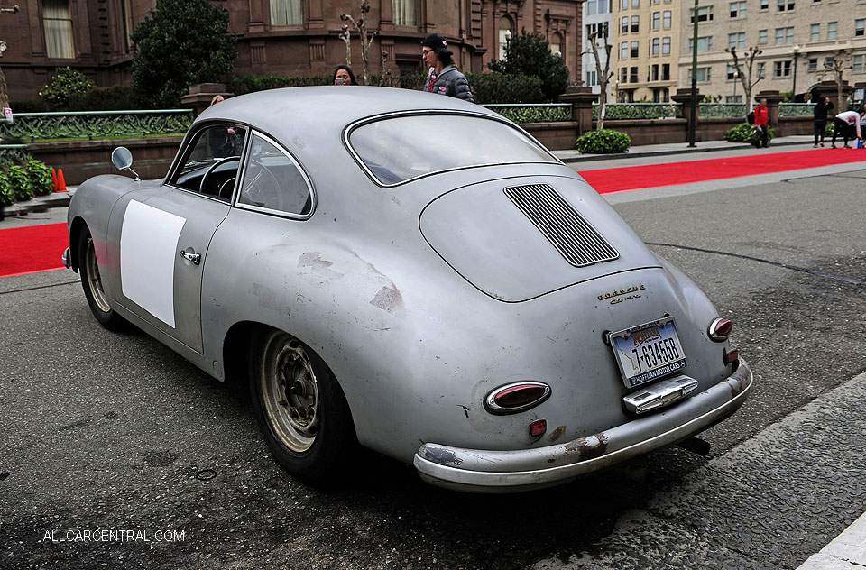 Porsche 356A Carrera Coupe 1956-58 California Mille 2018