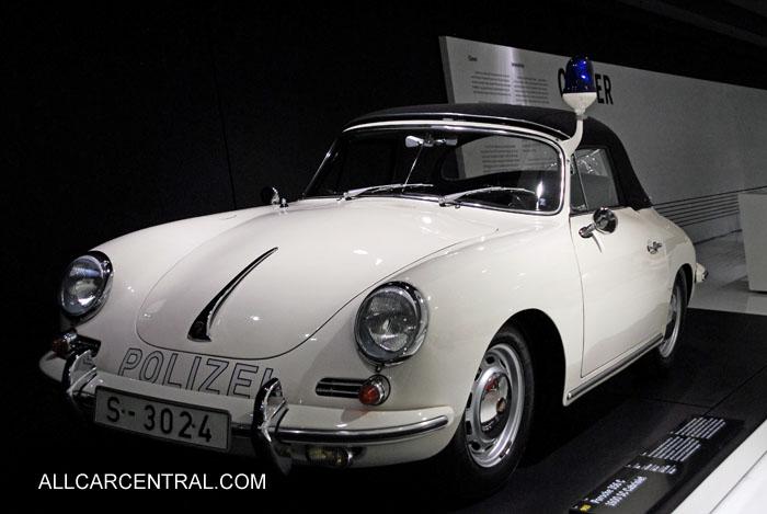 Black Porsche Car 2012 Police Car Porsche Museum 2012