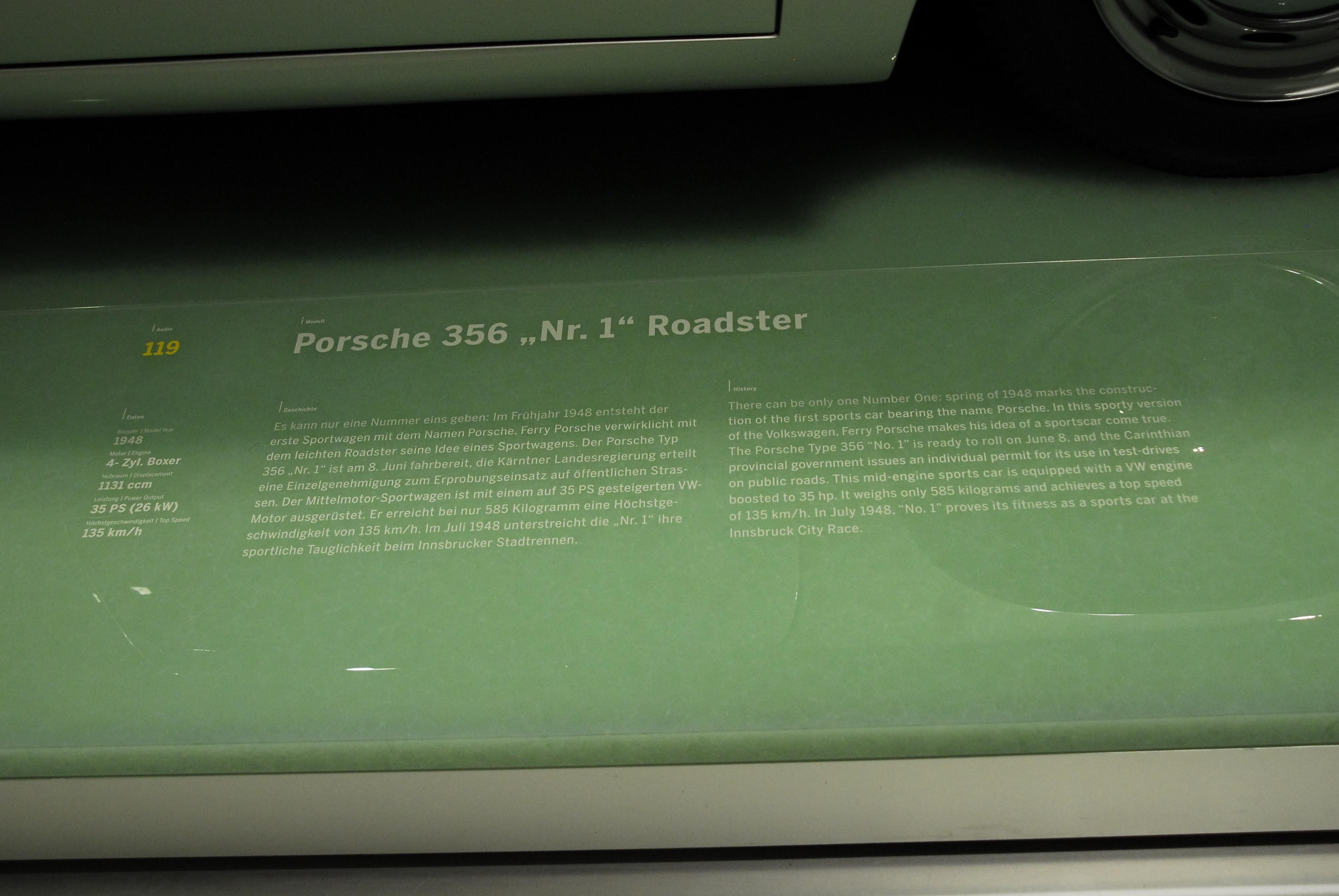 Porsche 356 1948 gallery all car central magazine porsche 356 no1 1948 porsche museum 2012 stuttgart zuffenhausen germany vanachro Choice Image