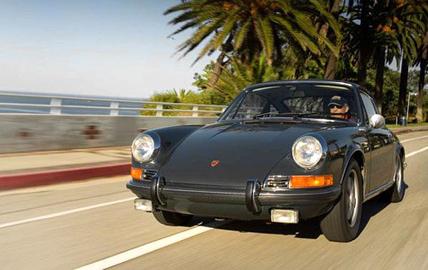 Porsche 911S 1970 sn-9110301502  This 1970 Porsche 911S Coupe was the car that Steve McQueen's character Michael Delaney drives in the opening scenes of the movie Le Mans