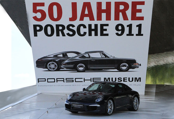 Porsche Museum 50 Years of the Porsche 911