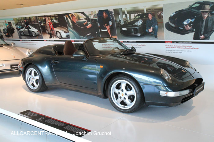 Porsche 911 Carrera 3.6 Speedster 1995  50 Years of the Porsche 911