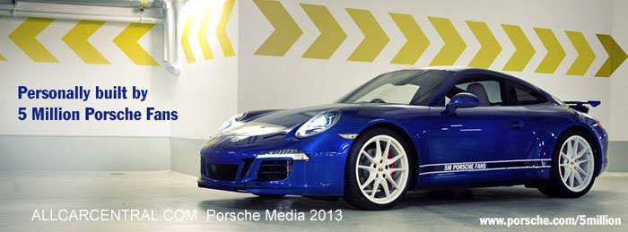 2014 Porsche 911 Carrera 4S Facebook Edition