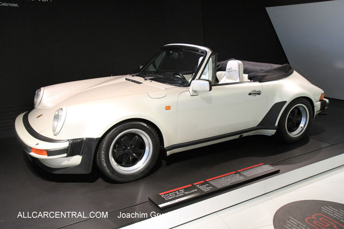 Porsche 911 Turbo 4x4 Cabriolet Studie 1981  50 Years of the Porsche 911