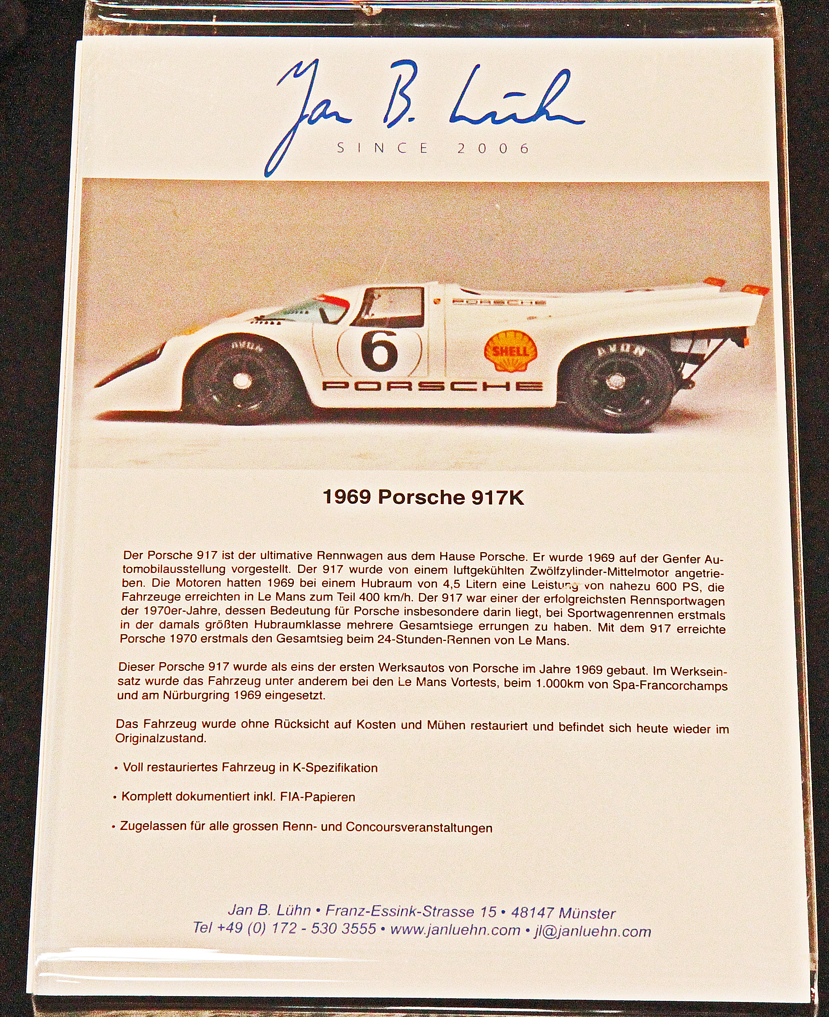 Porsche 917K 1969 Techno Classica 2014 Joachim Gruchot Photo