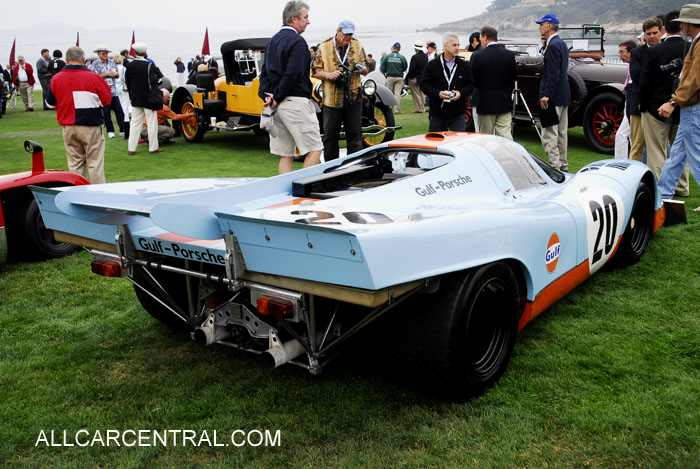 Porsche 917 christian and sonia zugel of holmdel new jersey displayed