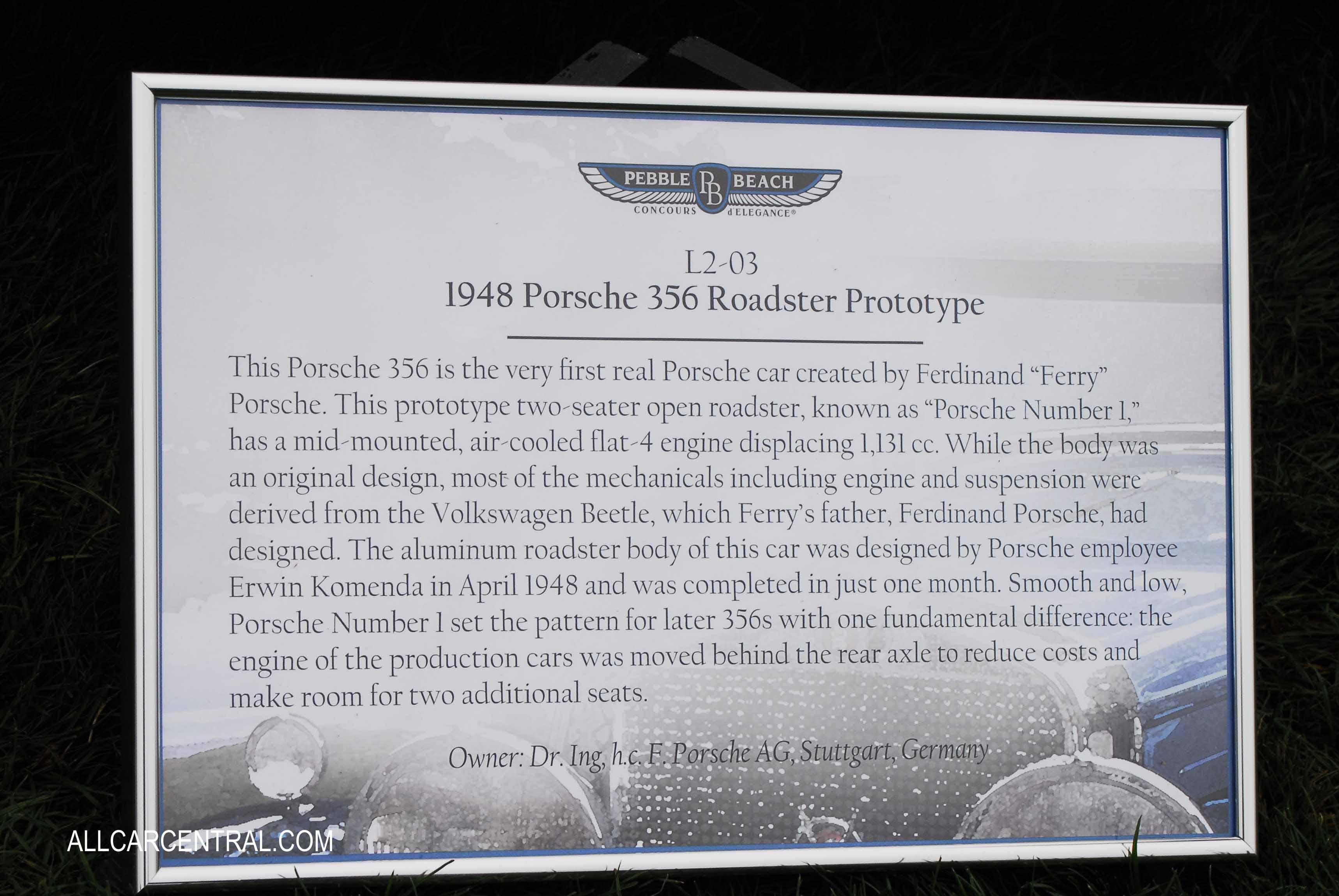 Porsche 356 1948 gallery all car central magazine porsche 356 1948 gallery vanachro Choice Image